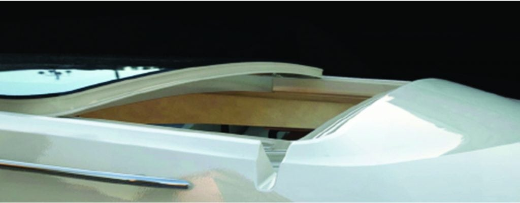 webasto thermo comfort control marine sunroofs southern boating rh southernboating com Webasto Roof Systems Rochester Hills Webasto Power Sunroof