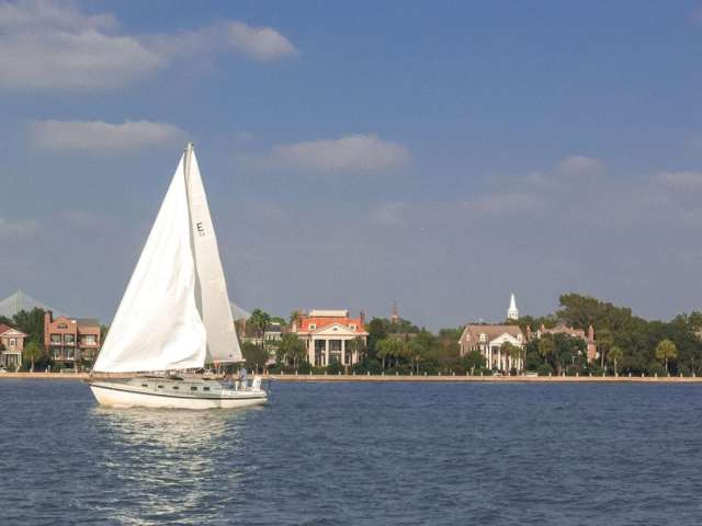 Charleston Sailing in the Harbor. Photo: Explore Charleston