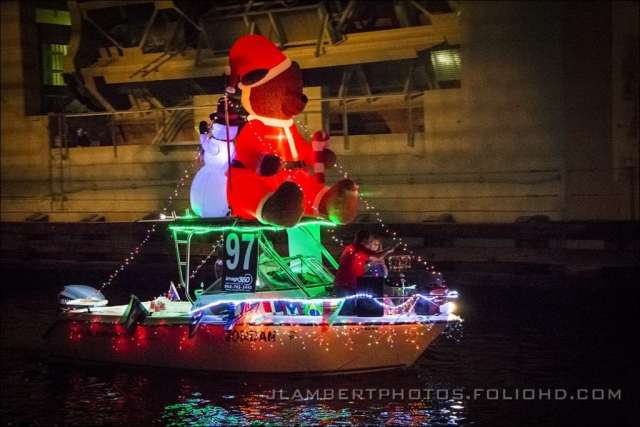 Shot during the Winterfest Boat Parade in Ft Lauderdale Photo by John Lambert