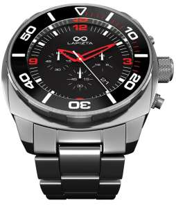 Lapizta Watch new Zatara collection features chronograph functions and keeps time up to 100 meters.