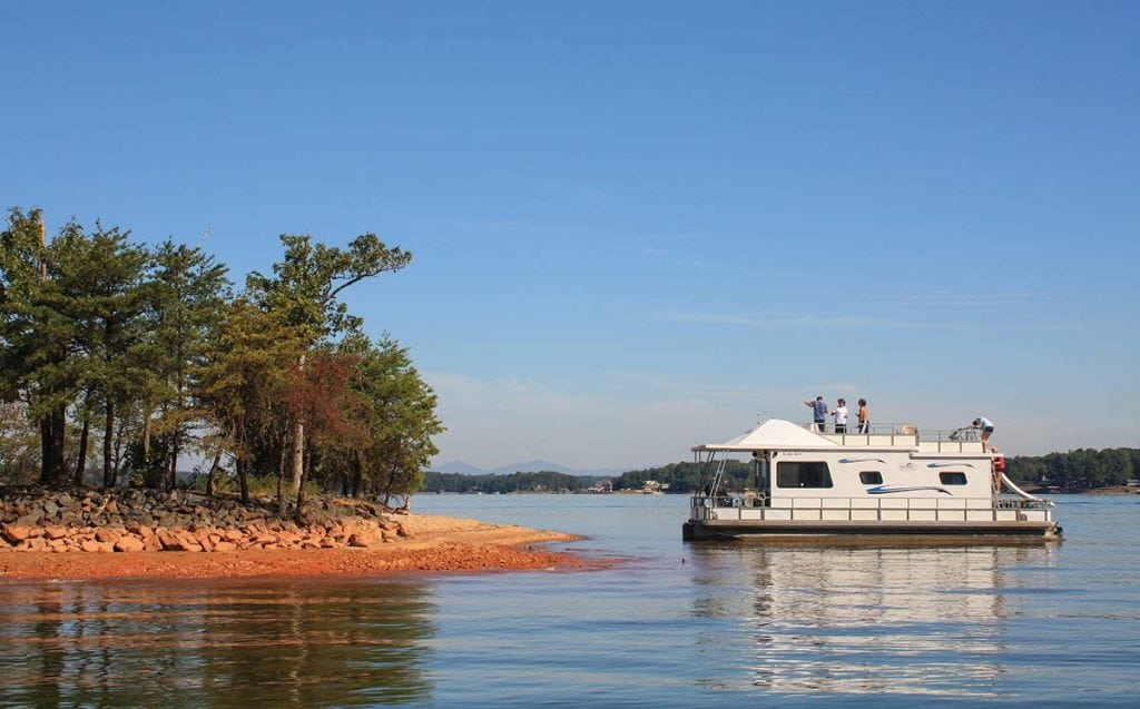 explore these five inland lakes southern boating u0026 yachting