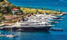C&N's Port Louis Marina is also a popular charter destination. Photo: Steve Brett