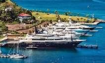 C&N's Port Louis Marina is also a popular charter destination. Photo: Steve Brett