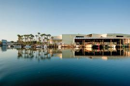 The Certified-Green Inn Marina offers a quiet setting and full service. Photo credit: John J Unrue