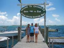 We rented outboards to navigate shallow waters between Elbow Cay and Lubber's Quarters, and to enjoy Tahiti Beach and its soft, white sand and lunch at Cracker P's.