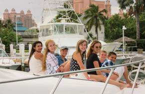 One cruise was spent at Atlantis with its many tall water slides and an abundance of swimming pools to beat the heat. Photo Credit: Cher Foth