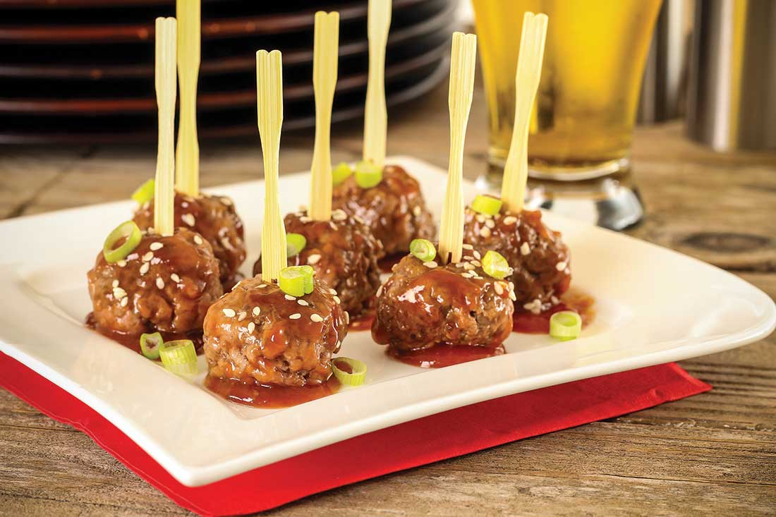 christmas cocktail meatballs by lori ross - Christmas Meatballs