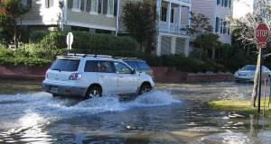 sea level rise causes flooding