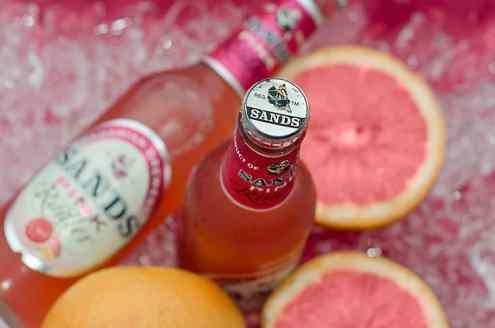 Sands Pink Radler With the Bursting Taste of Pink Grapefruit