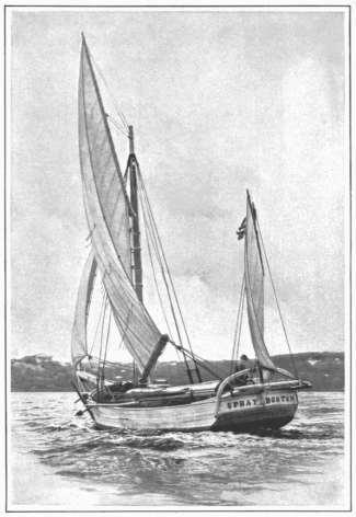 Captain Joshua Slocum's sloop Spray