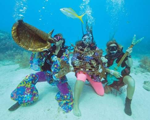 An image of the Underwater Music Festival
