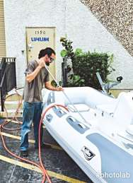 RIB repair, repairing your rib, dinghy repair, inflatable repair, repair my inflatable, tender care