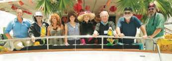 The event's Yacht Hop showed just how creative the owners can be! Decorations included Gilligan's Island