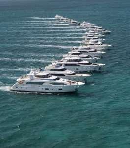 Horizon Yachts Rendezvous - Formation ©Jim Raycroft