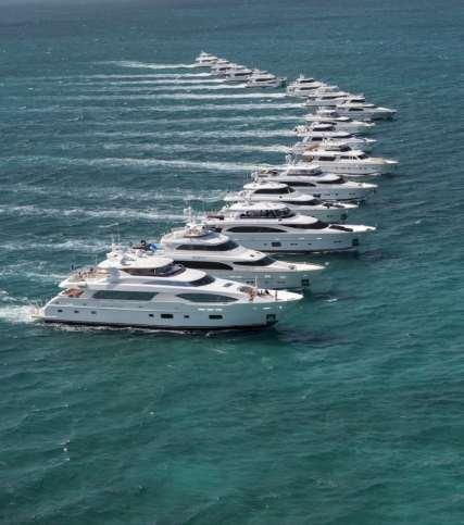 Formation of Horizon Yachts ©Jim-Raycroft Photography