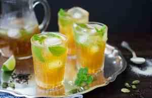 Moroccan Mint Gin Tea