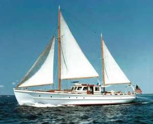 The Sea Fox in her Glory days before her partial restoration.
