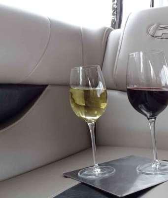 Antispill Wine Glasses