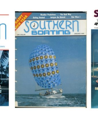 Southern Boating's covers through the years