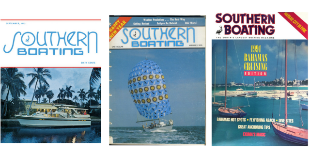Southern Boating covers through the years