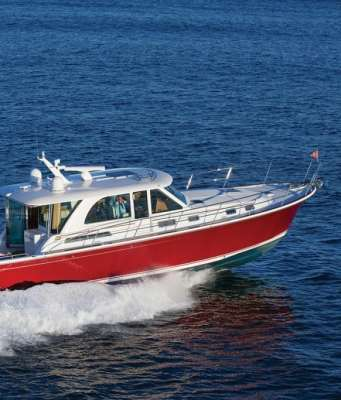 Sabre 45 Salon Express, Downeast Boats Roundup, Top Downeast boats, 16 Downeast boats, lobster boats, maine-style, high-end, heritage,