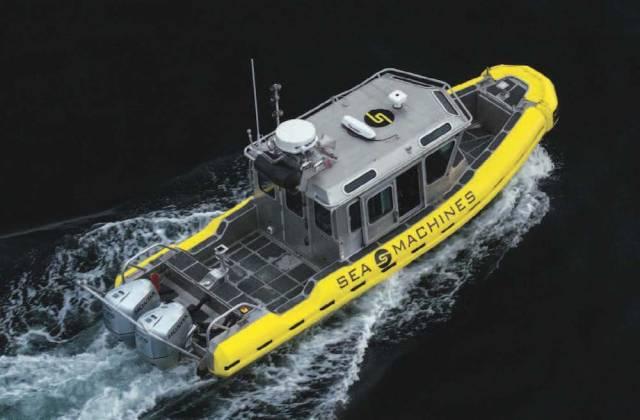 self-driving boats