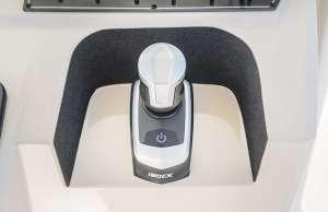 driving with a joystick, joystick vs wheel, docking with a joystick, driving made easy