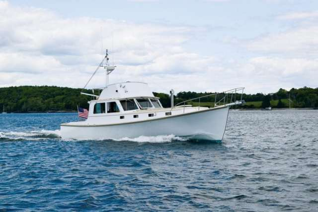 Rockport Marine 45, Downeast Boats Roundup, Top Downeast boats, 16 Downeast boats, lobster boats, maine-style, high-end, heritage,