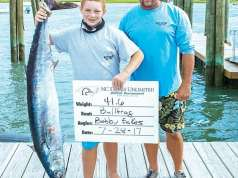 An image of winners at the Band the Billfish Tournament