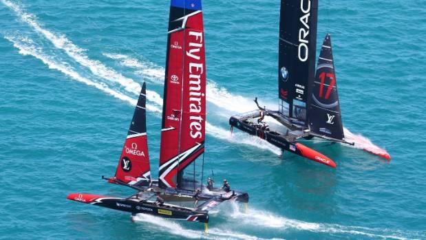 Foiling regatta
