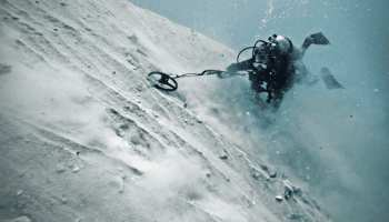 a diver at the site of the atocha