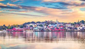 an image of Lunenburg in Nova Scotia