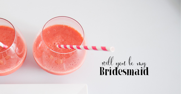 what to consider before saying youll be a bridesmaid