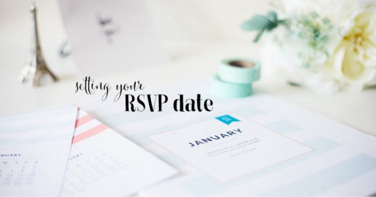 setting your rsvp date too early
