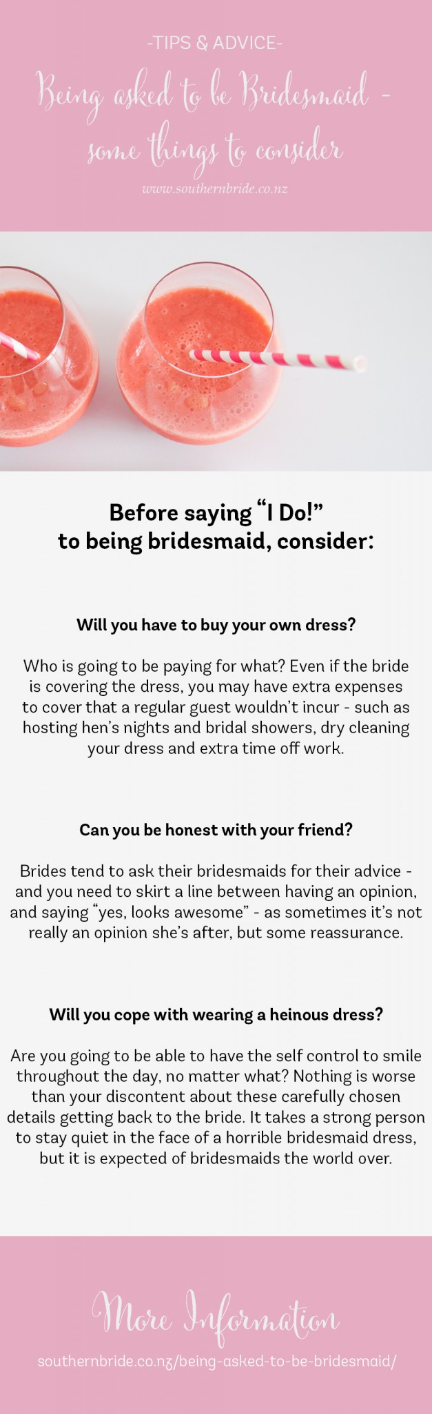 being asked to be bridesmaid