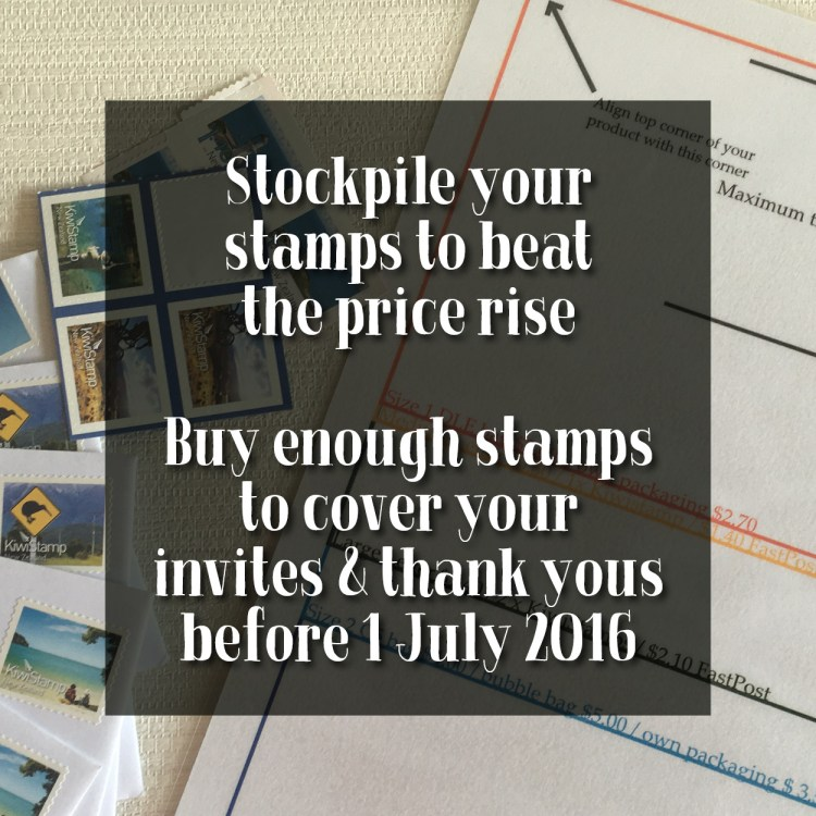 stockpile stamps by 1 july