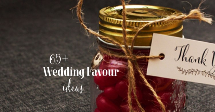 idea for wedding favours nz