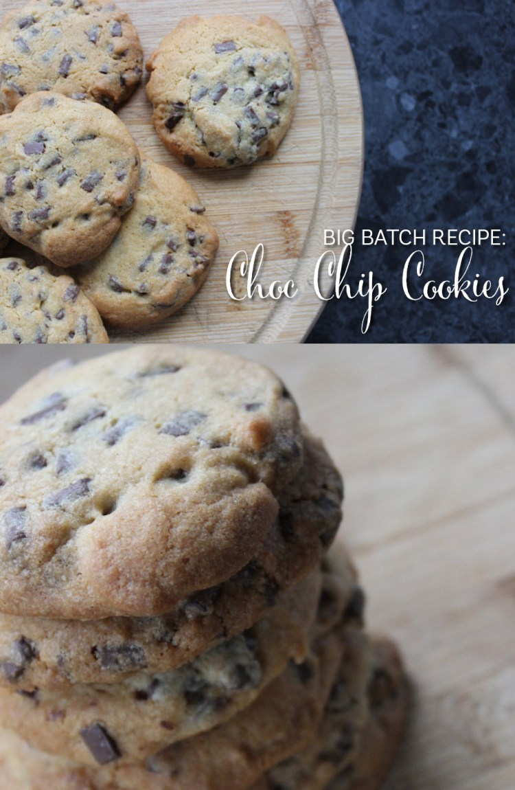 recipe for chocolate chip cookie