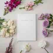 A1 - sm - little white book wedding organiser diary