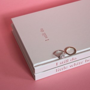 II still do - wedding anniversary journal - She Said Yes $69 0823
