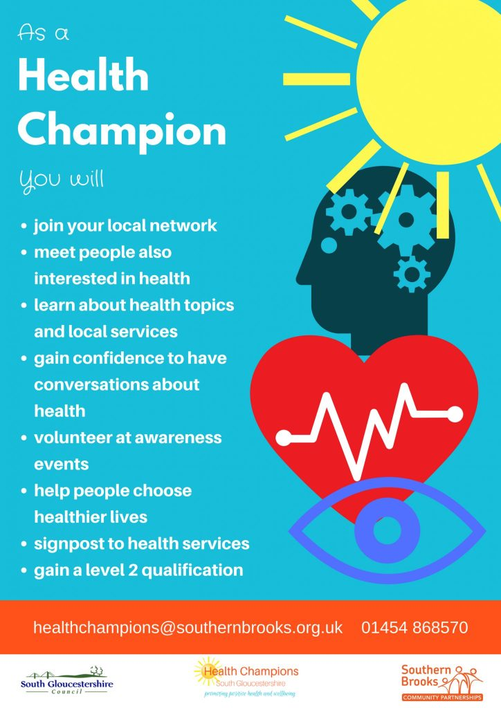 Health Champs Flyer May 2018 side 1