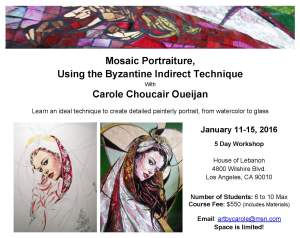 Mosaic Portraiture Flyer