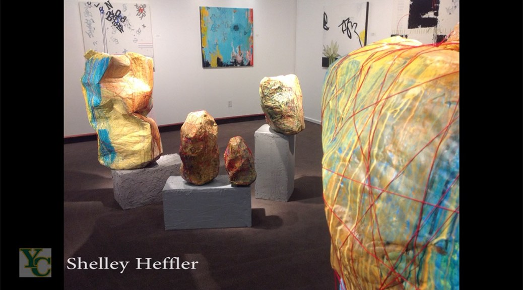 Shelley Heffler and Diane Silver at Yavapai Art Gallery