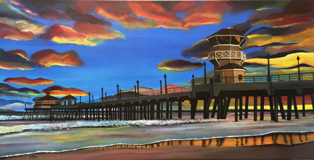 California Dreamin' at Sunset - Natalie Reilly