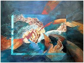Coral Portrait - Elizabeth Daron Redmon