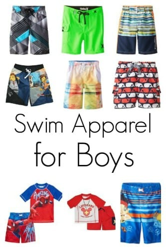 Swim Apparel for Boys