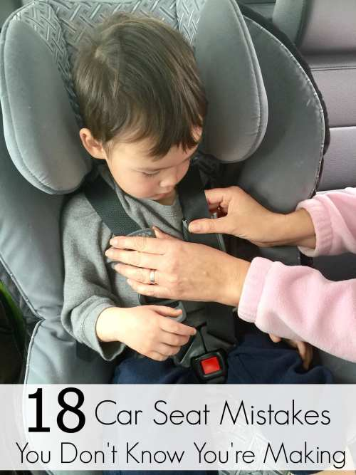 18 Car Seat Mistakes to Avoid