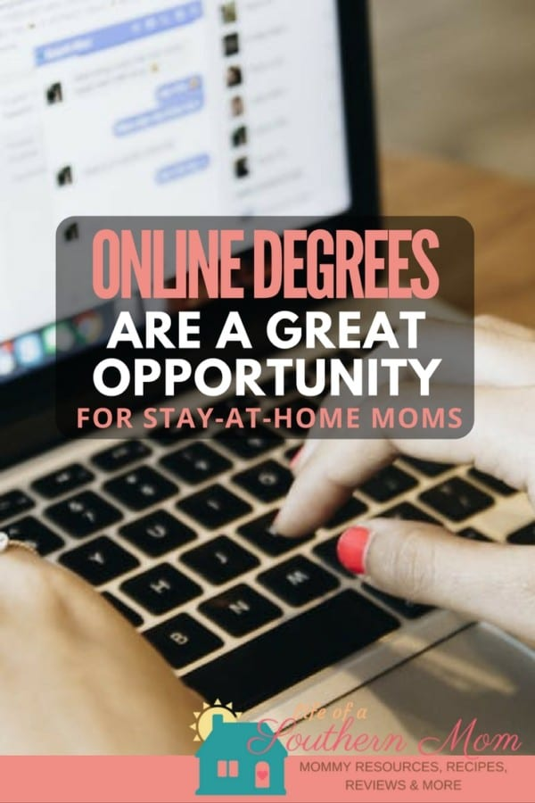 Online Degrees are a Great Opportunity for Stay-at-Home Moms