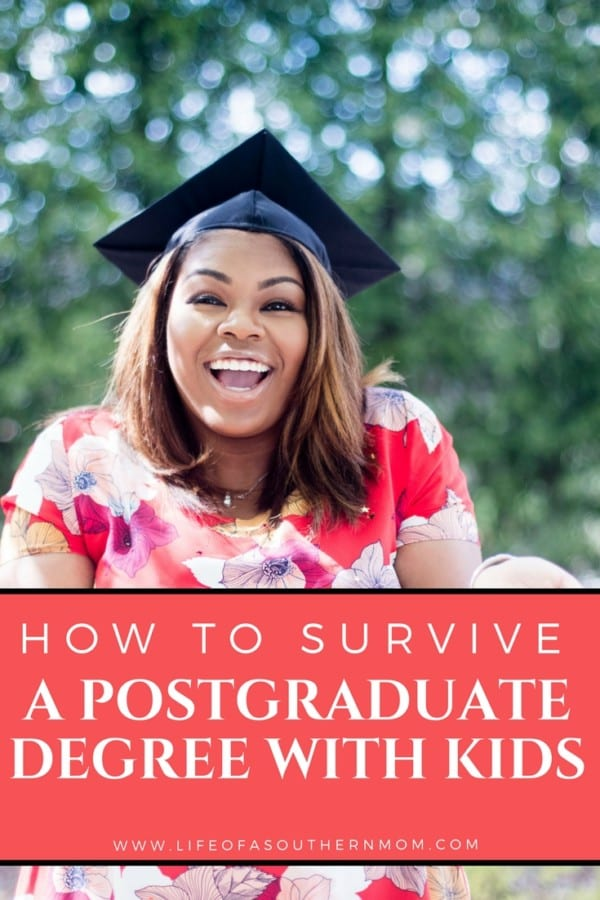 How to Survive a Postgraduate Degree with Kids