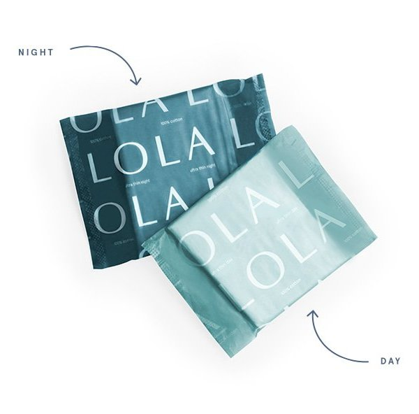 LOLA: Organic Cotton Feminine Products Delivered